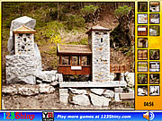 Hidden Spots Stone Building game