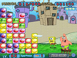 Spongebob Flying Plate game