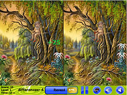 Dreamland Spot the Difference game