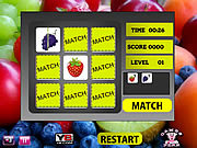 Fruits Perfect Match game