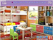 Kids Colorful Room Hidden Alphabets game