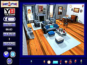 Play Blue room hidden object Game