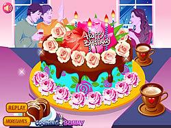 Flower Cake Decoration game