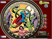 Play Superman hidden alphabets Game