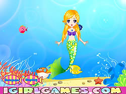 Pretty Little Mermaid Princess game