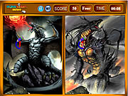 Dragon Similarities game