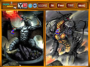 Play Dragon similarities game Game