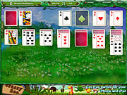 Green Solitaire game