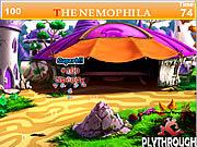The Nemophila Tent House game