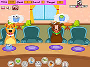 Play Pets food shop Game