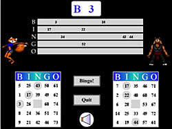 Battle Bingo game