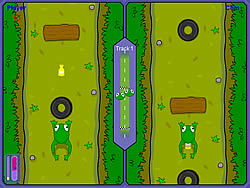 Frog Race game