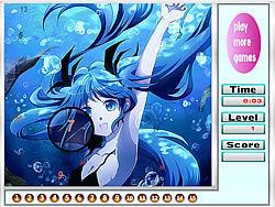 Alone Mermaid Hidden Numbers game