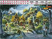 Village Hidden Alphabets game