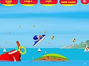 Super Sonic Ski game