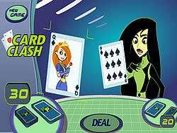 Kim Possible: Card Clash game