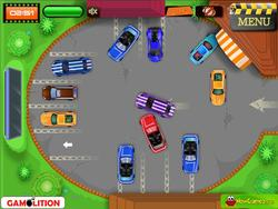 Cinema Drive in parking game game
