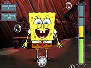 Spongebob Bubble Busting game