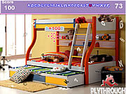Modern Bunk Bedroom Hidden Numbers game