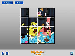 SpongeBob and Patrick Sliding game
