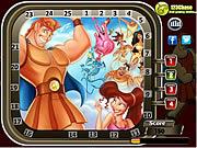 Hercules Hidden Numbers game