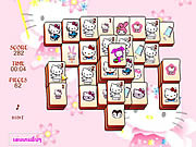 Hello Kitty Mahjong game