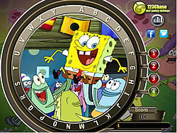 Spongebob Hidden Alphabets game