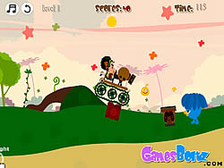 Uncle Weird Cannon game