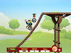 Popeye Bike Ride game