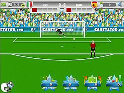 Permainan Euro 2012 Free Kick