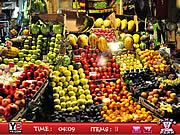 jeu Hidden objects Fruits Shop