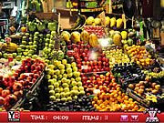 Hidden objects Fruits Shop game