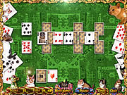 Kitten Solitaire game