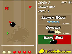 Bowling Alley Defense game