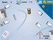 Park the Snowmobile game