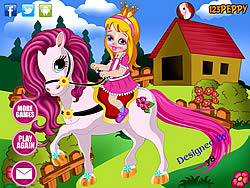 Cute Little Pony Dress Up game