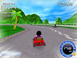 Super Kart 3D game