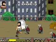 Hobo vs Zombies لعبة