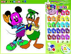 Disney Coloring Book game