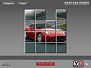 Ferrari Sliding Puzzle game