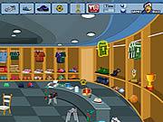 Soccer Dressing Room game