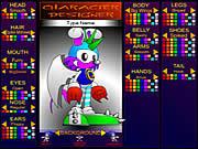 Sonic Character Designer game