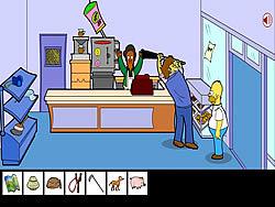juego Homero Simpson Saw Game