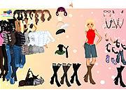 Play Fashion dress up Game