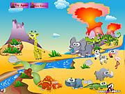 Volcano Island game