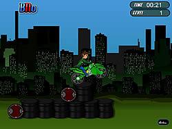 Ben 10 Bike Trail 2 game