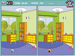Kids Room Difference game