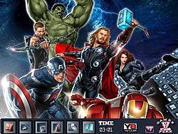 Hidden Spots-Avengers game