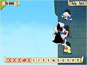 Scarlet Pumpernickel in Tower Rescue game