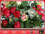 Beautiful Flowers - Find The Numbers game